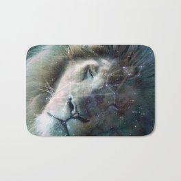 La constellation du Lion Bath Mat