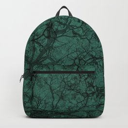 Viridian Green Hunting Camo Pattern Backpack