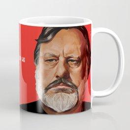 Slavoj Žižek Portrait Coffee Mug
