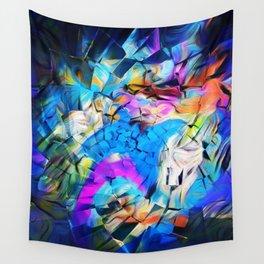 Rainbow Mind Wall Tapestry