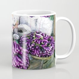 Eggplant Vendor, Myanmar Coffee Mug