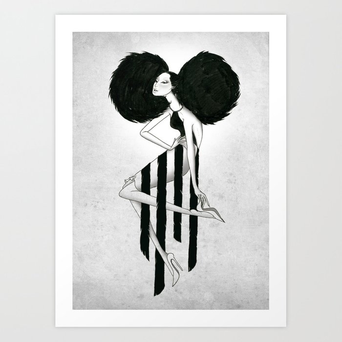 Killer Pose Art Print