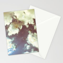in the sky Stationery Cards