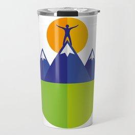 Reach the peak Travel Mug