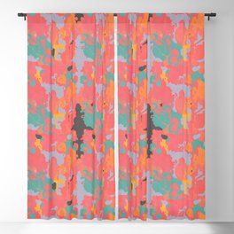 Nouveau Retro Blackout Curtain