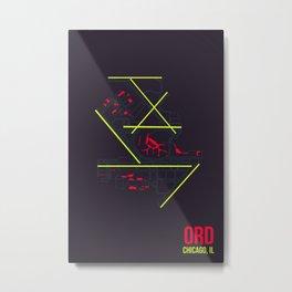 ORD Metal Print