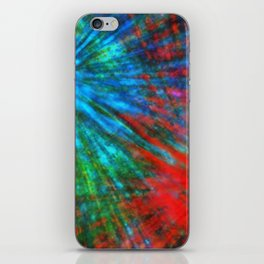 Abstract Big Bangs 001 iPhone Skin
