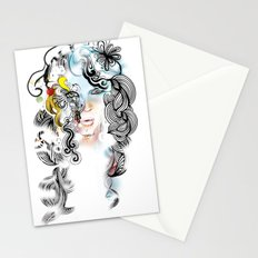 lined Stationery Cards
