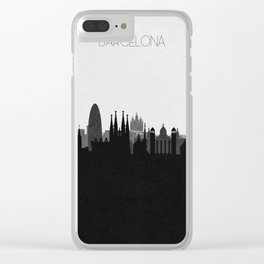 City Skylines: Barcelona Clear iPhone Case