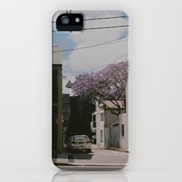 Jakaranda I iPhone Case