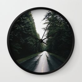 Middle of the road Canada Wall Clock