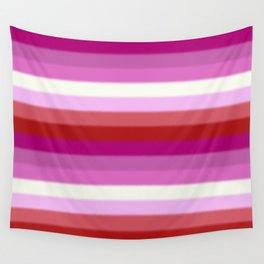 Lesbian Pride Flag v2 Wall Tapestry