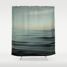 Waves of Calm V2 Shower Curtain