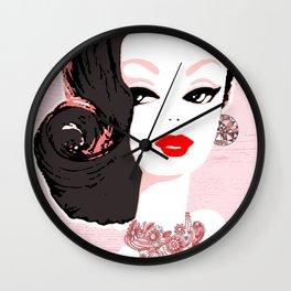 Barbie in Jewels Wall Clock