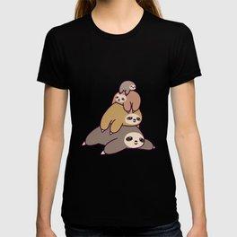 Sloth Stack T-shirt