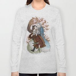 The Silver Wolf Long Sleeve T-shirt