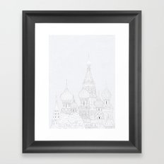 St Basil's Cathedral Framed Art Print