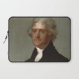 Thomas Jefferson Painting Laptop Sleeve