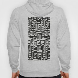 African Tribal Pattern No. 193 Hoody