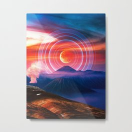 The Volcan Mountains Metal Print