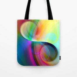 color whirl -30- Tote Bag
