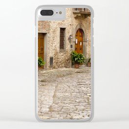In Montefioralle Clear iPhone Case