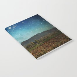 Starlit Vineyard II Notebook