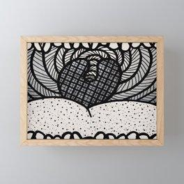 Say AHHH Framed Mini Art Print