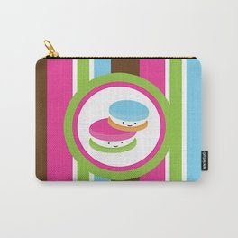 Bright Macaroons Carry-All Pouch