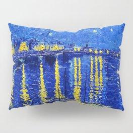 Starry Night Over Rhone Pillow Sham