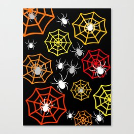 Creepy Crawlers Canvas Print