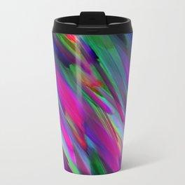Colorful digital art splashing G400 Travel Mug
