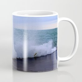 Lake Michigan Natural Fountains #1 (Chicago Waves Collection) Coffee Mug