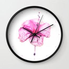 Buenas Noches (Pink) Wall Clock