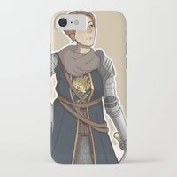 dark souls iPhone & iPod Cases featuring Dark Souls- Daphne by mio-mio