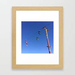 upward: kid Framed Art Print