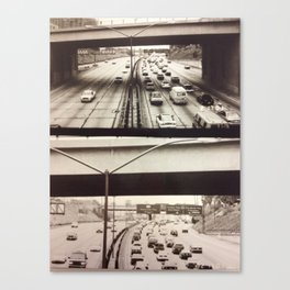 Vroom Canvas Print