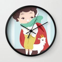 Porcelain Boy  Wall Clock