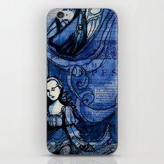 The Tempest - Miranda - Shakespeare Folio Illustration iPhone & iPod Skin