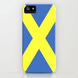 Saint Alban flag iPhone Case