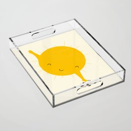 Belly Rub Acrylic Tray