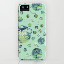 Polka Gravure iPhone Case