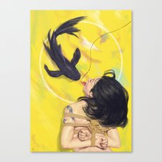 The Bait Canvas Print
