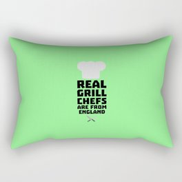 Real Grill Chefs are from England T-Shirt Dqqk3 Rectangular Pillow