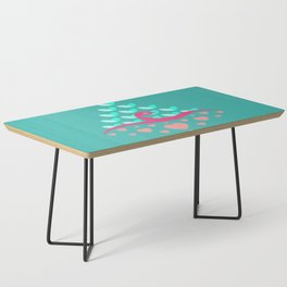 Be Beautiful - Be Colourful Peacock Coffee Table