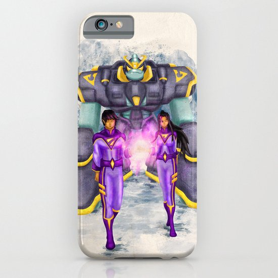 The Wonder Twins + Gleek iPhone & iPod Case