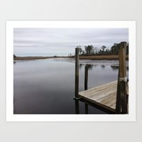 new jersey Art Prints featuring New Jersey  by Gina R Furnari
