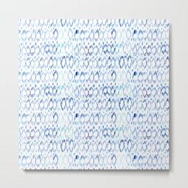 Blue vibes #3    watercolor Metal Print