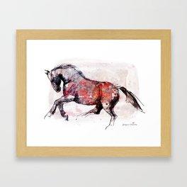 Horse (Dziki/Wild) Framed Art Print