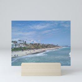 San Clemente Beach Mini Art Print